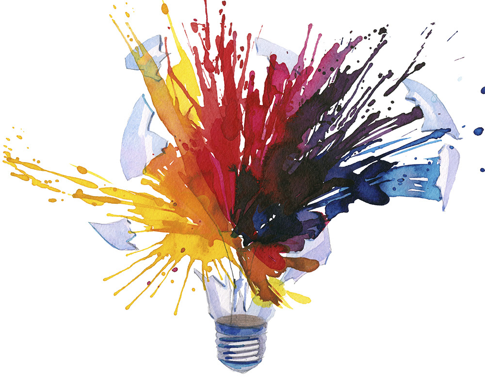 Light bulb was destroyed by electrical energy