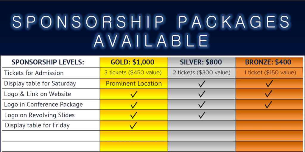 TC sponsorship packages
